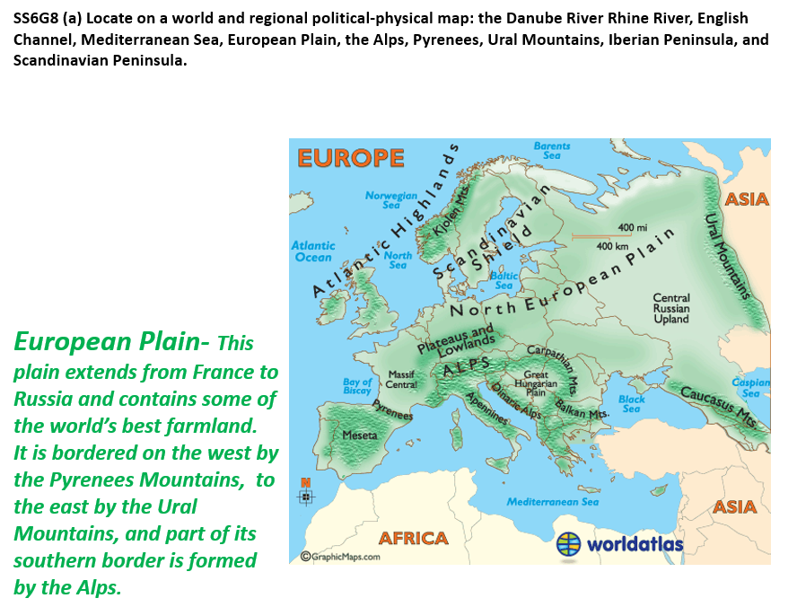 Unit 1: Geography of Europe - Lindley Sixth Math